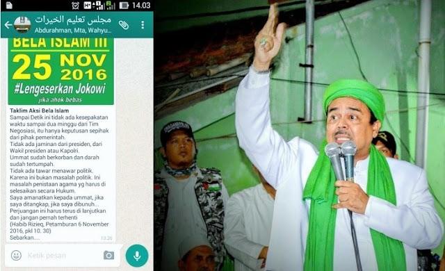 Aksi Bela Islam III Direncanakan 25 November 2016? : Detikberita.co Terbaru Hari Ini