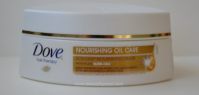 Dove Nourishing Oil Care SOS Deep Nourishing Mask