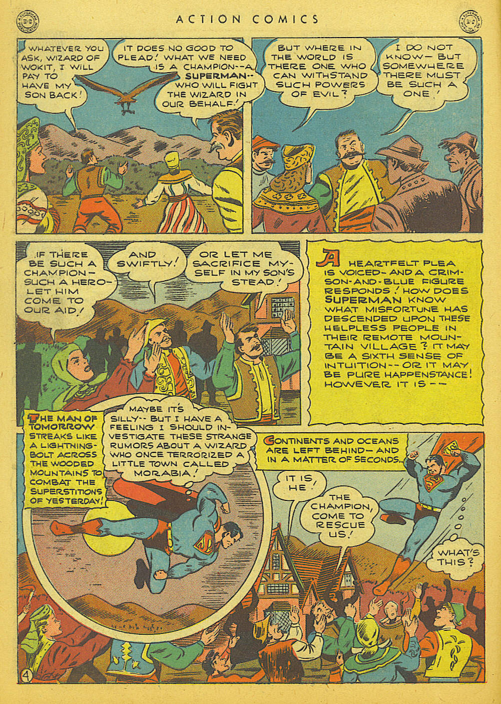 Read online Action Comics (1938) comic -  Issue #86 - 6