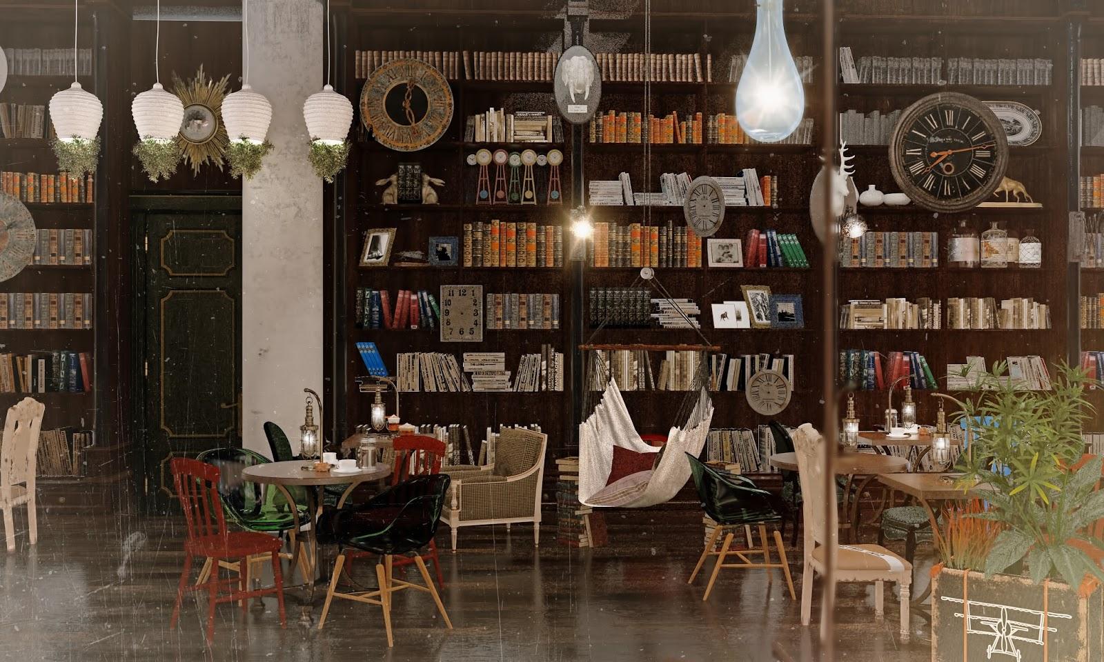 Darya girina interior design march 2015 - Darya Girina Interior Design Hipsters Cafe In Moscow Industrial Loft Retro Cafe Bar