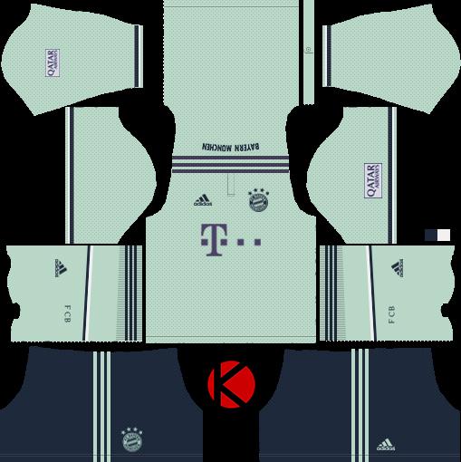 FC Bayern Munich 2018/19 Kit – Dream League Soccer Kits | FC