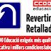 Petició unitària pel retorn de les condicions laborals i la qualitat educativa #RevertimRetallades
