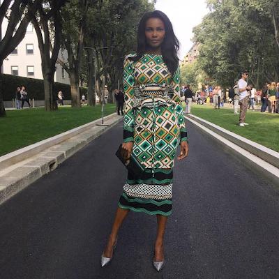 Former Miss World, Agbani Darego shares stunning travel photos