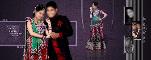 Indian Wedding Album Design