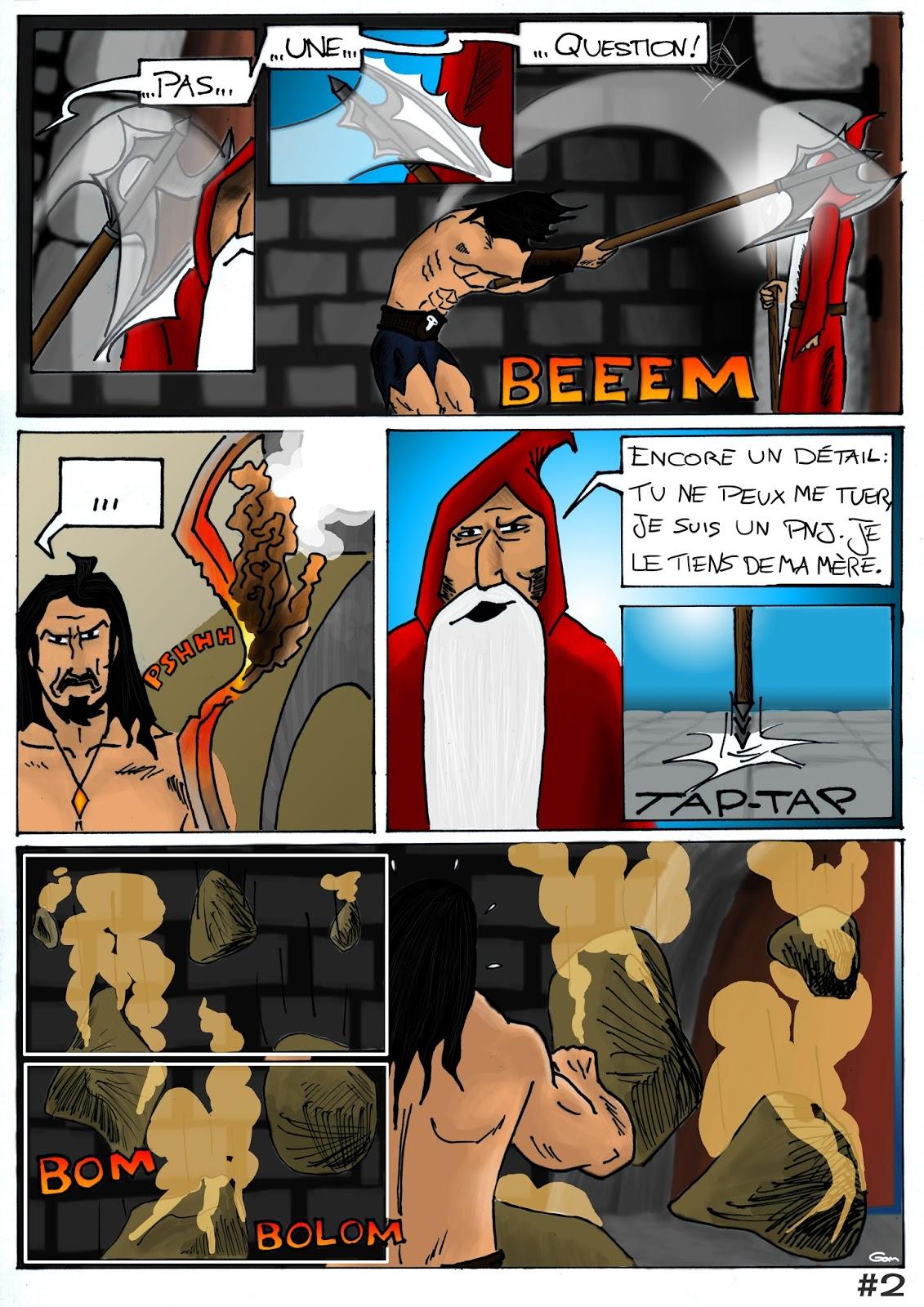 Le Prince des Ténèbres, planche 2