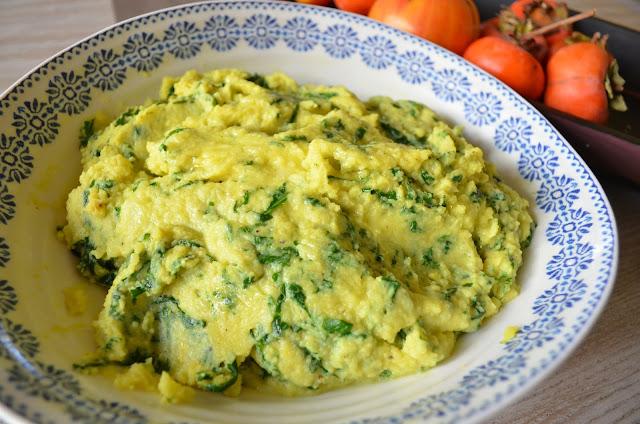 ... Indian Kitchen: Thanksgiving recipe: Turmeric-Kale mashed potatoes