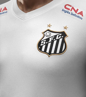 The Santos 14-15 Home Kit is completed with white shorts and socks 177f33009