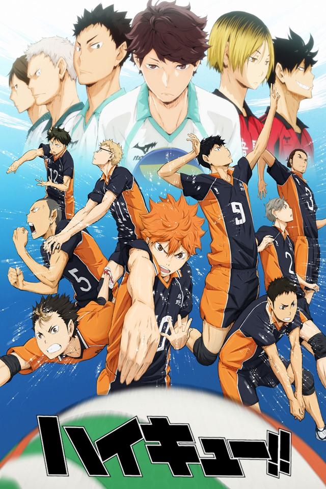 cover anime Haikyū!!