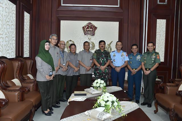 Panglima TNI Terima Direktur Utama PT. ASABRI