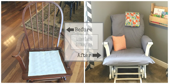 Glider Chair DIY Makeover