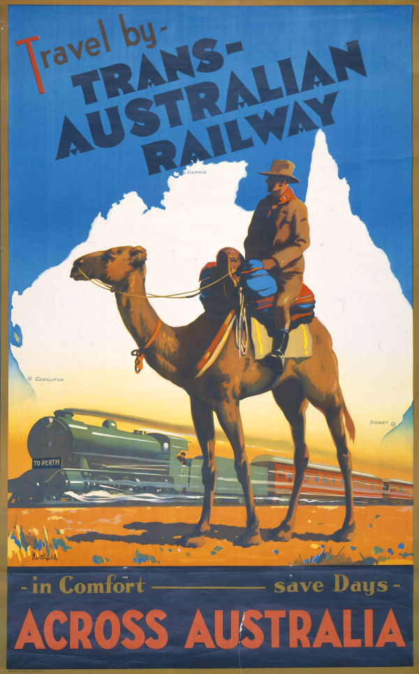 Australian Railway Songs Australian Railway Posters