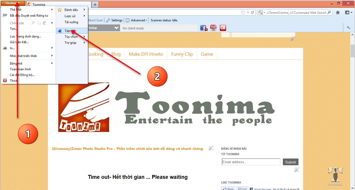 Hướng dẫn dùng thử Firefox OS bằng tiện ích r2d2b2g trên