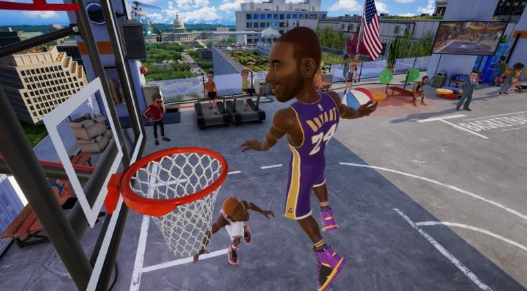 NBA 2K Playgrounds 2 pc full español