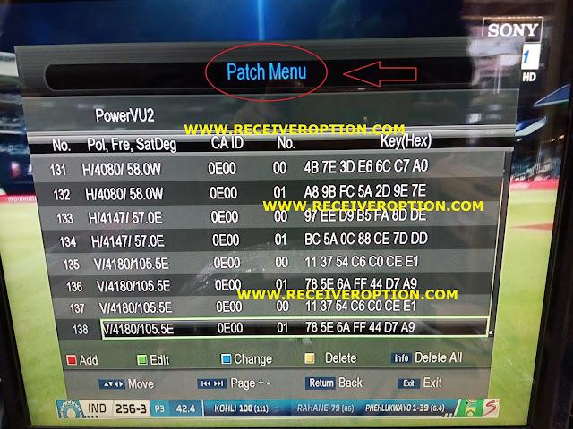 PROTOCOL PATCH TYPE AUTO ROLL POWERVU KEY NEW SOFTWARE