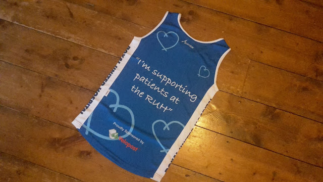 Running Diary {The Charity Vest}