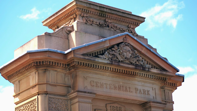 Paddington Gates Entrance to Sydney's Centennial Park