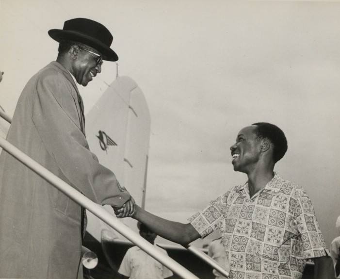 Hastings Banda and Presiden Tanzania, Julius Nyerere