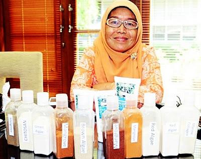 Prof. LInawati Hardjito, Phd Pendiri Produk Ocean Fresh