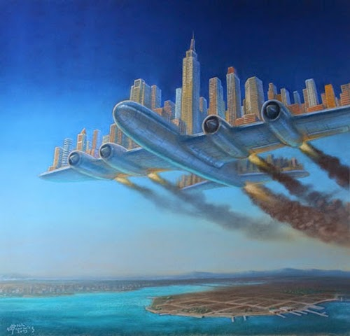 07-Aeropolis-Marcin-Kołpanowicz-Painting-Architecture-in-Surreal-Worlds-www-designstack-co