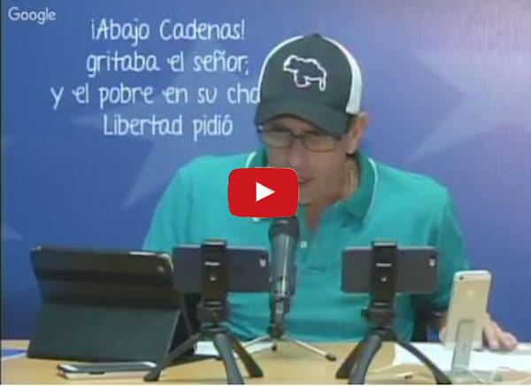 Henrique Capriles asegura que hay 5% menos de participación