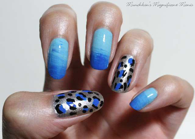 Leopard Print and Gradient design