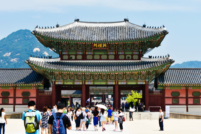 Gyeongbokgung Palace south korea