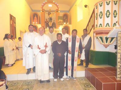 Treff der Pastoralzone Süd der Diözese Potosí, der nach längerer Zeit wieder ´mal in Esmoraca stattgefunden hat.