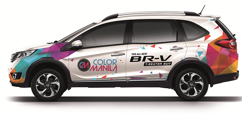 The Honda BR-V x Color Manila Ride
