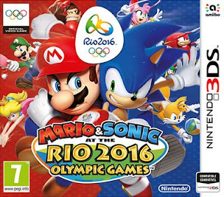 Mario & Sonic at the Rio 2016 Olympic Games, 3DS, Español, Mega, Mediafire