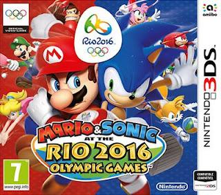 Mario & Sonic at the Rio 2016 Olympic Games, 3DS, Español, Mega, Mediafire