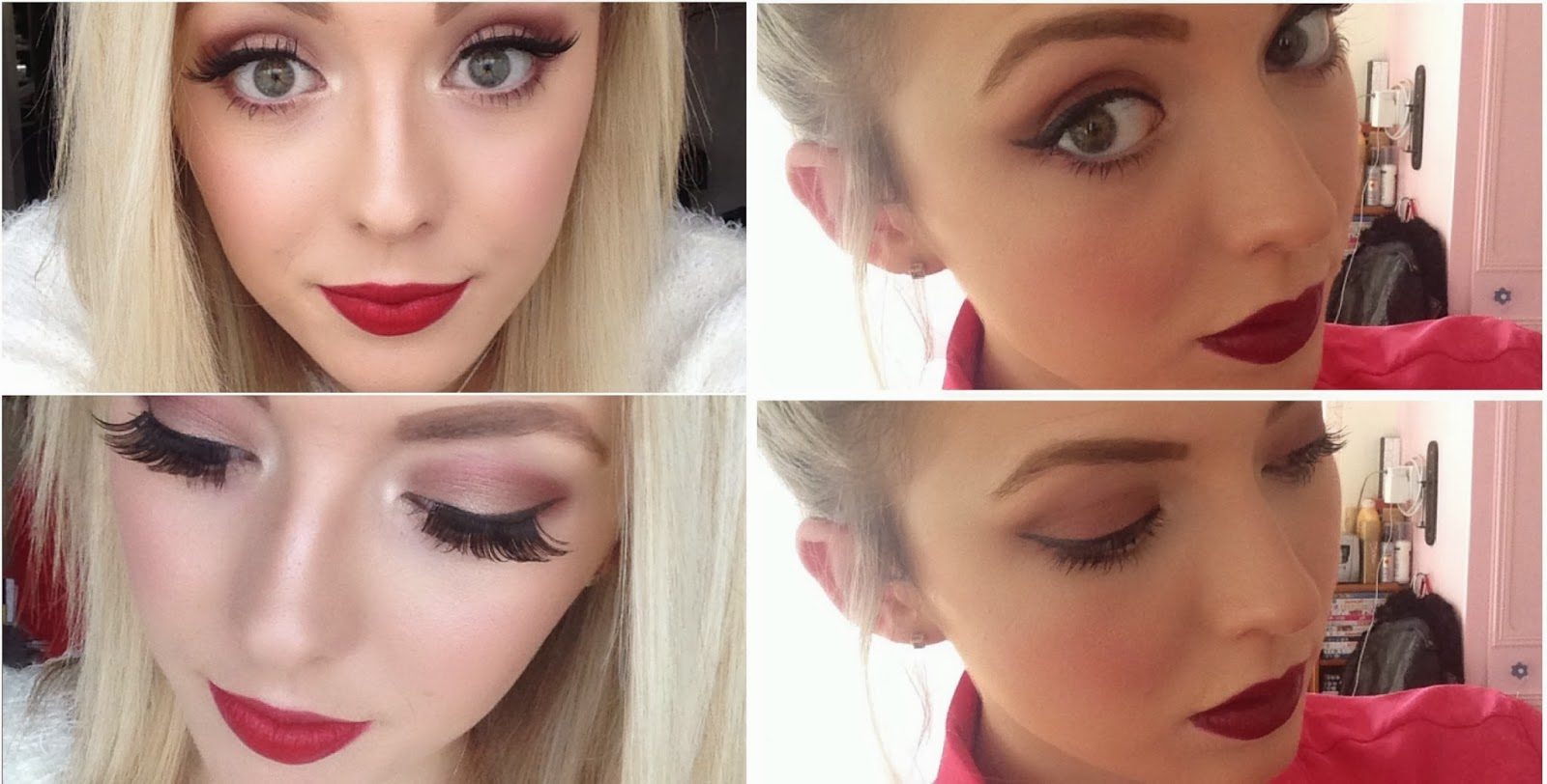 f45df5c1117 In the look on the left I used All That Glitters all over the eye and then  took Cranberry through the crease and under the eye and added Woodwinked to  the ...