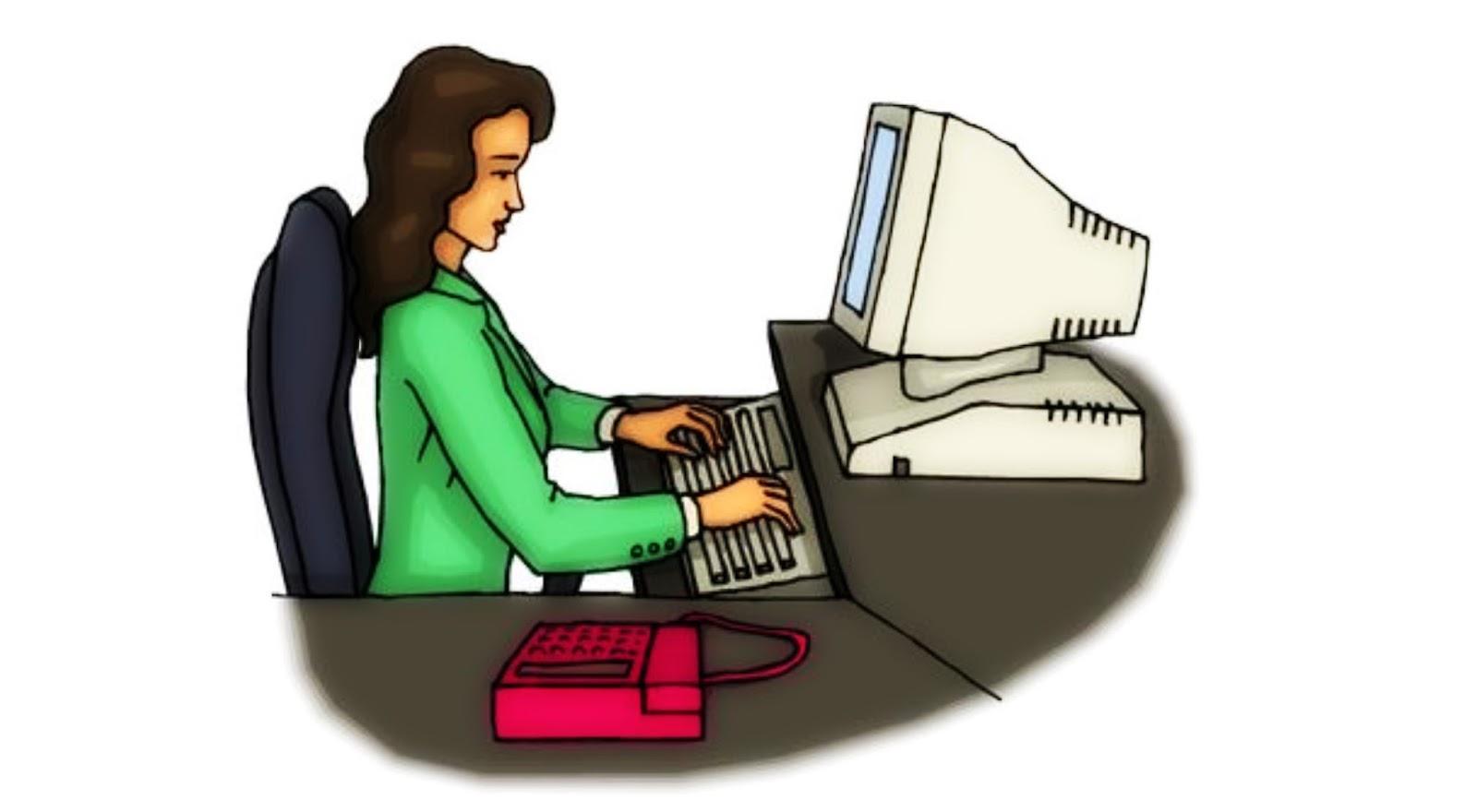 Koleksi 420  Gambar Animasi Orang Di Depan Komputer  Terbaik