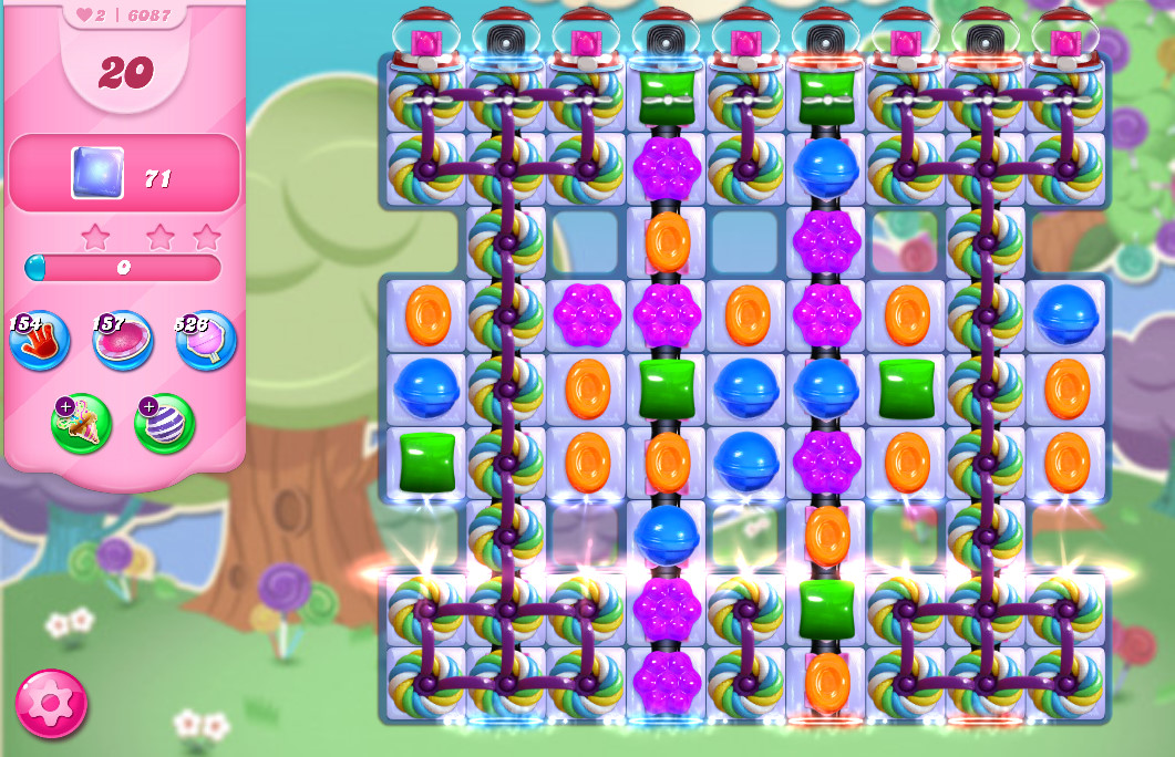 Candy Crush Saga level 6087