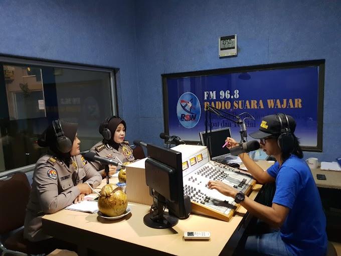 Kabidhumas Polda Lampung Kembali Melakukan Sosialisasi  Kegiatan Milennial Road Safety Festifal tahun 2019