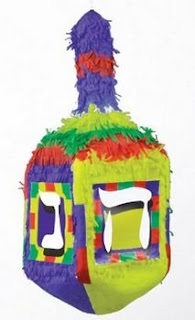 Dreidel pinata for your Hanukkah party