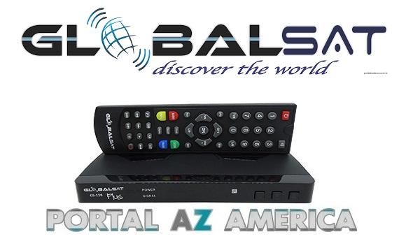 Resultado de imagem para GLOBALSAT GS120 PLUS portal azamerica