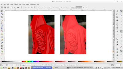 tutorial Membuat vector dengan mudah #inkscape cara