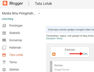 Edit Favicon