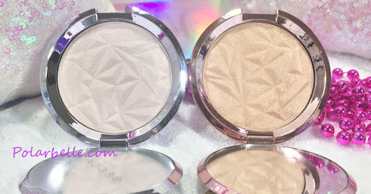 Becca Cosmetics Prismatic Amethyst Pressed Shimmering Highlighter, Pics, Swatches and Dupe Comparisons
