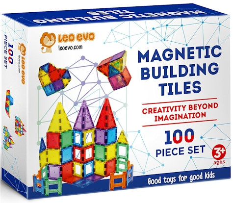Has Got This Leo Evo 100 Piece Magnetic Building Tiles Set For 70 00 But Enter Daily Skate S Exclusive Promo Code Ydxauzmi At Checkout And