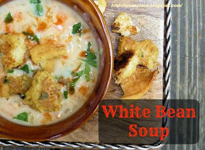 White Bean Soup | Ms. ePlace
