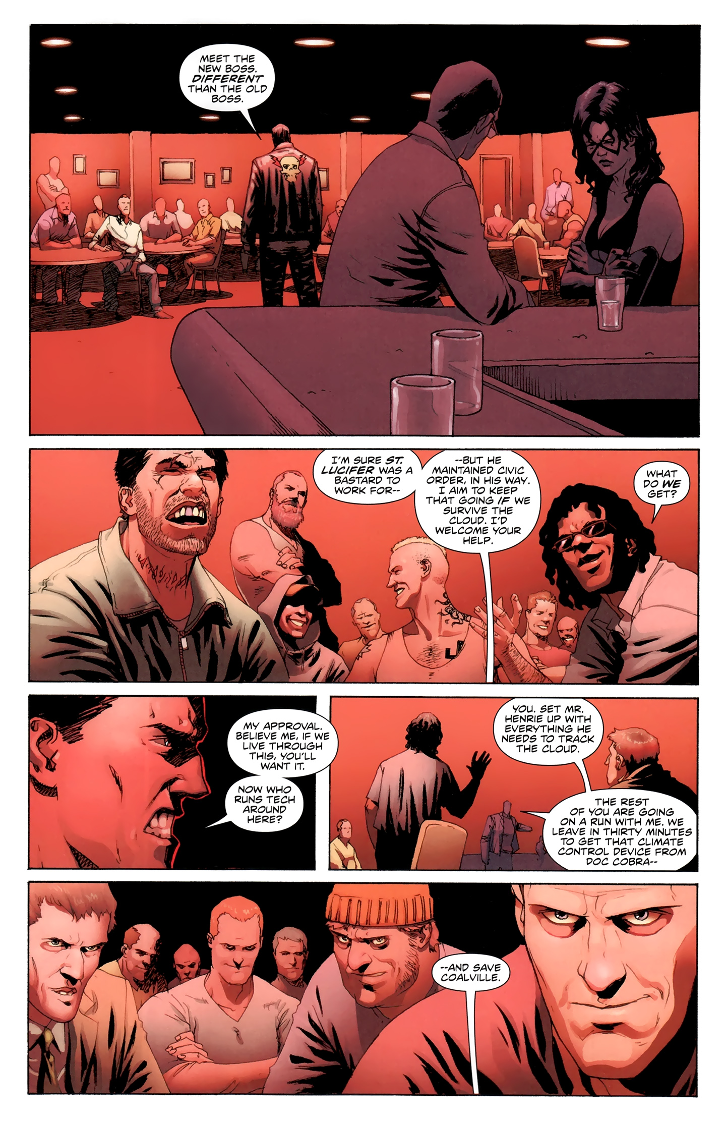 Read online Incorruptible comic -  Issue #30 - 13