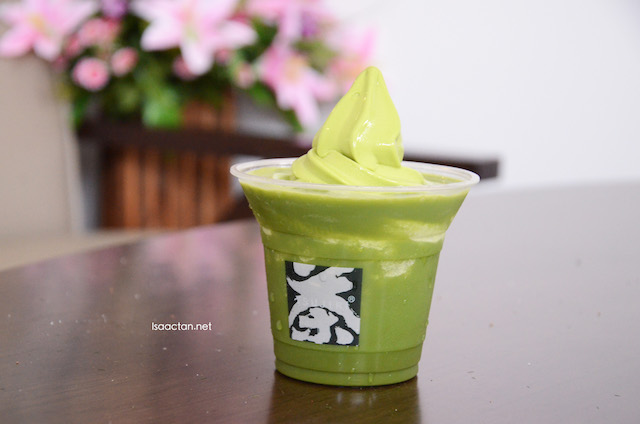 Green Tea Float