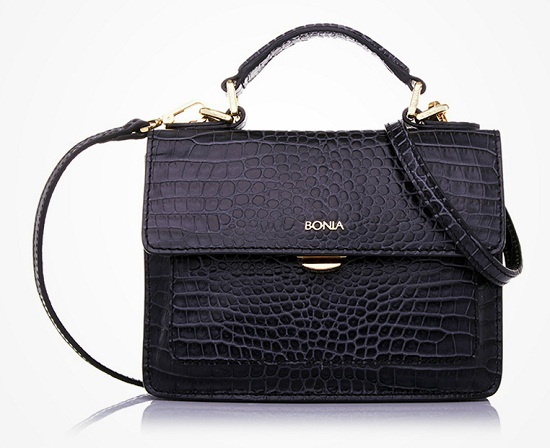 Bonia GlamoXotic Satchel Bag