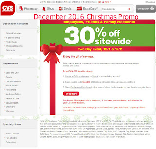 Cvs Pharmacy coupons december
