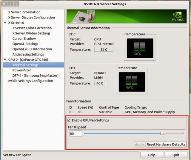 How to Control/Adjust GPU Fan Speed For Nvidia Graphics Cards