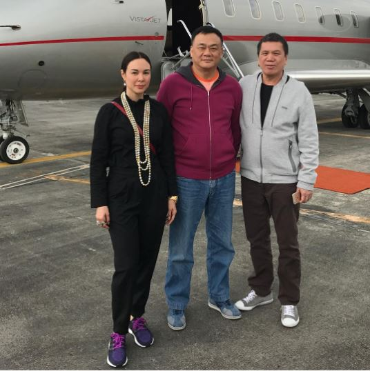 Gretchen Baretto Rode A Private Plane Just To Travel To Taiwan! We're Jealous!