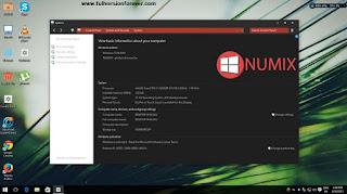 download Windows 10 Numix x86 2015 En-Us Pre-Activated free