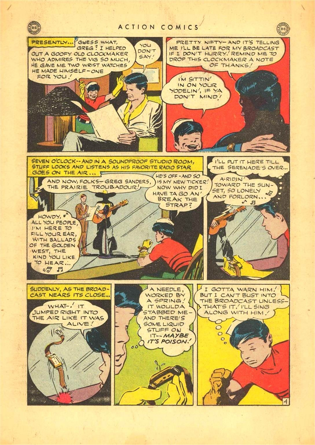 Read online Action Comics (1938) comic -  Issue #92 - 26