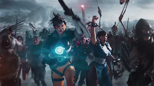 Ready Player One Overwatch